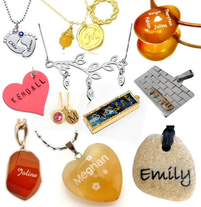 Very Unique Name Necklaces