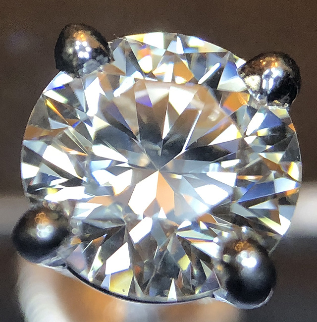 Diamond Under Light-Up Loupe