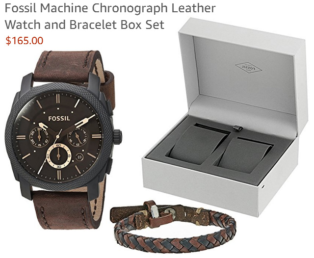 Dads Watch and Bracelet Combo Gift Sets