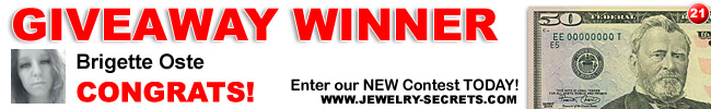 Jewelry Giveaway 21 Winner