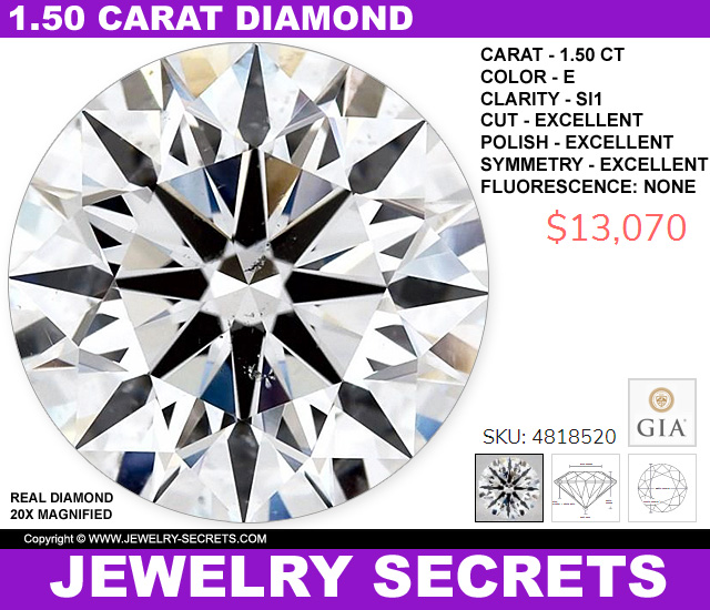 150 Carat Diamond Upgrade