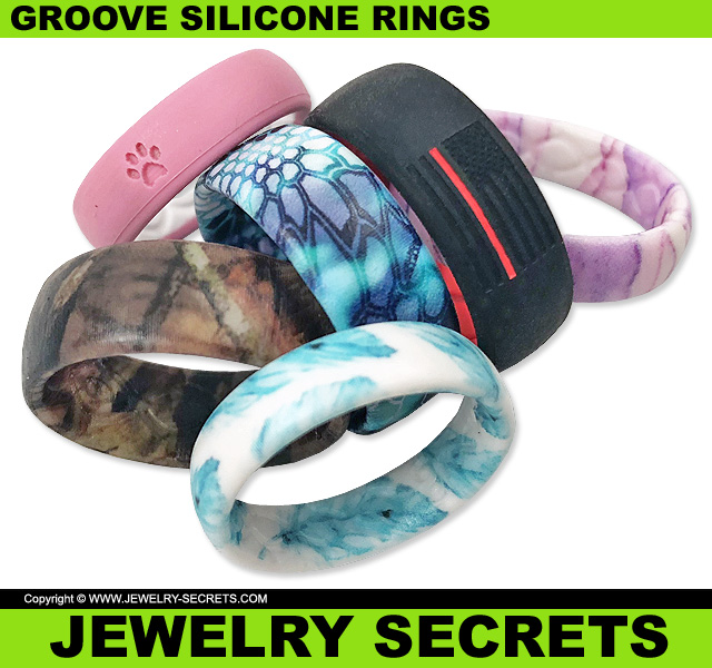 Fun Styles And Designs Of Groove Silicone Rings