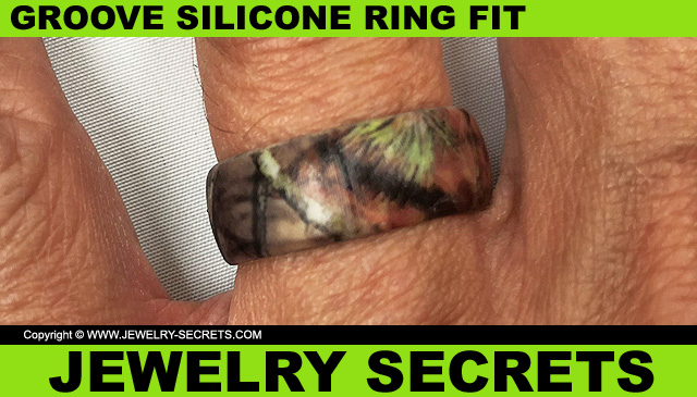 Groove Silicone Ring Fit