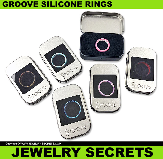 Groove Silicone Rings