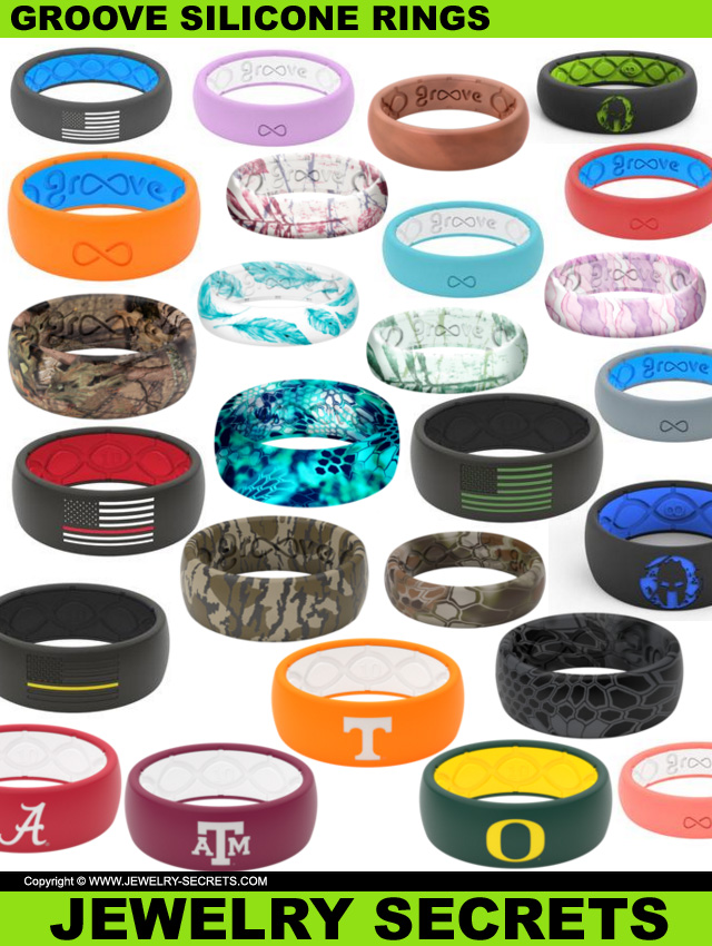 Groove Silicone Rubber Rings