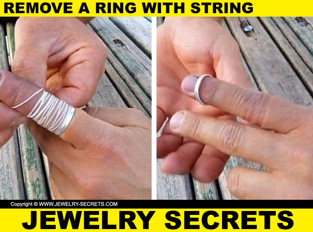 How To Remove A Tight Ring With String