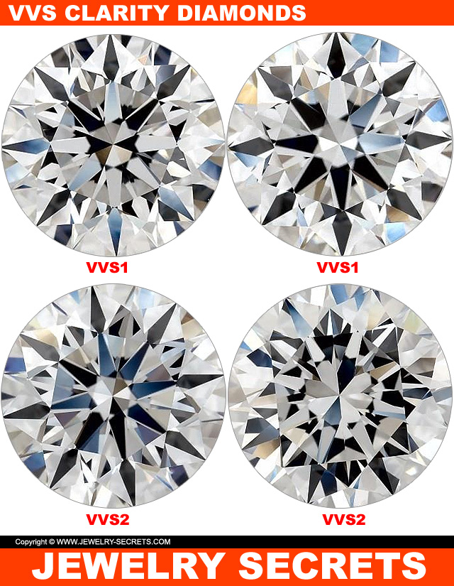 VVS1 and VVS2 Clarity Diamonds