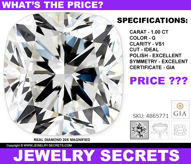 Whats The Price Of This Cushion Cut Diamond