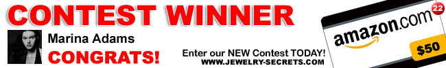 Jewelry Contest Giveaway 22 Winner