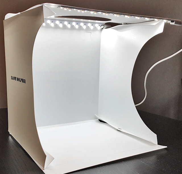 Jewelry Photo Light Box