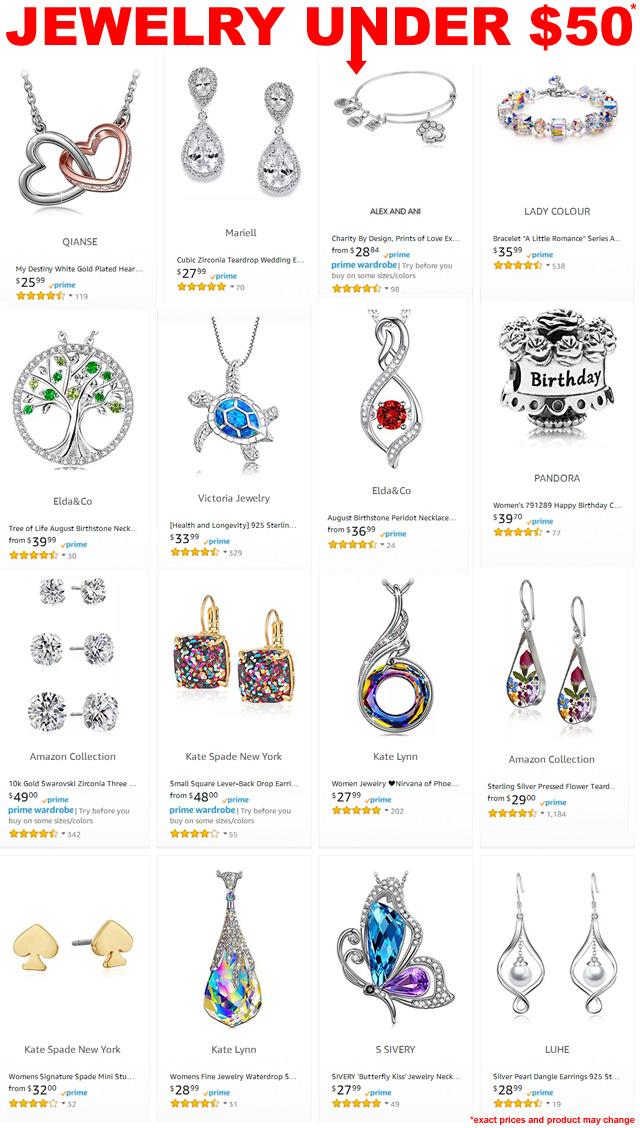 Jewelry Under 50
