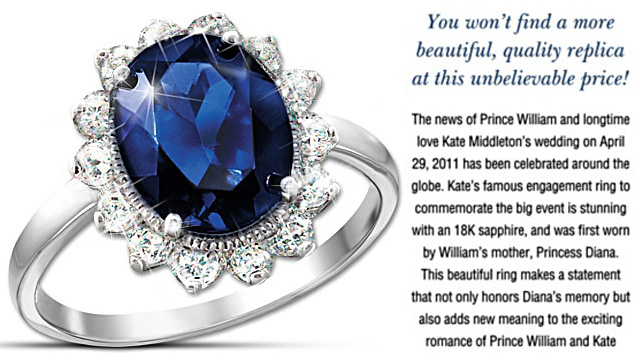 Kate Middleton Princess Diana Engagement Ring