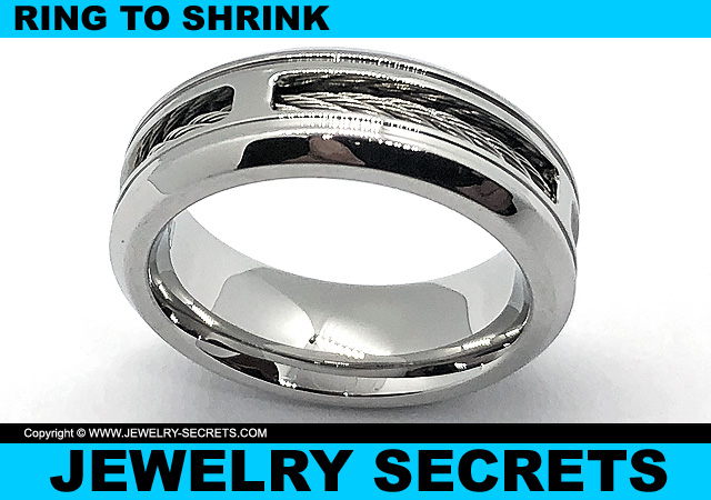 Ring Shrinker Ring To Shrink