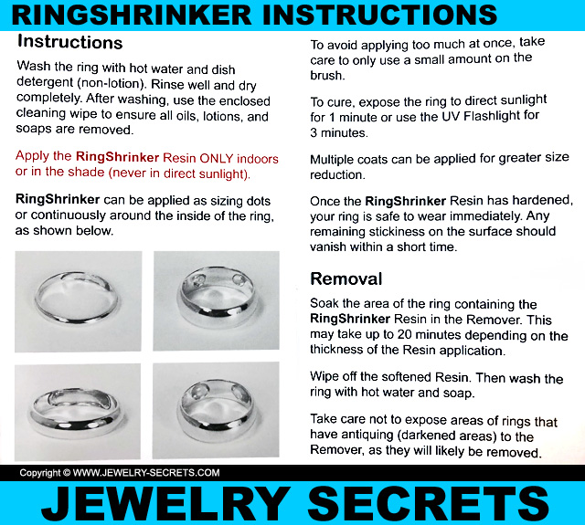 Ringshrinker Instruction Booklet