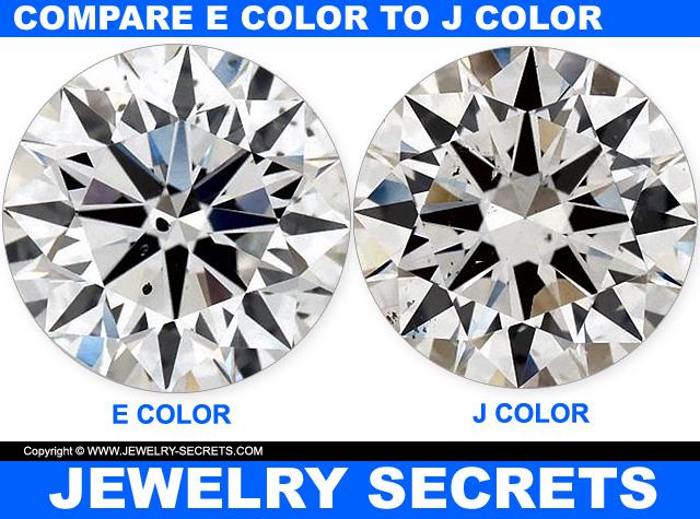 Compare E Color Diamond To J Color