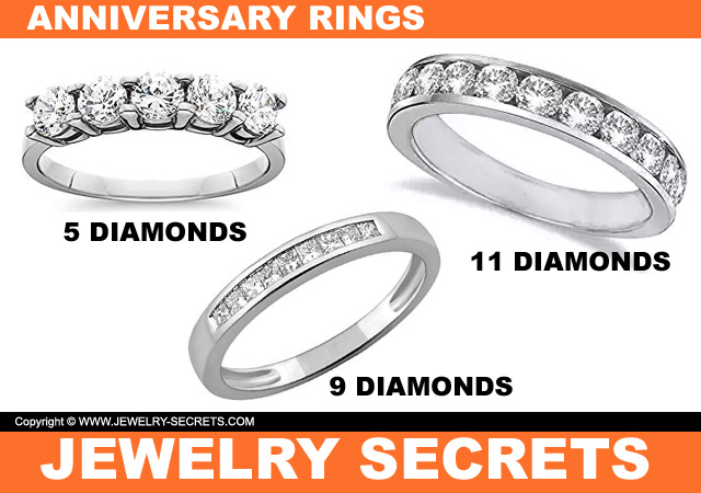 Diamonds And Anniversary Bands