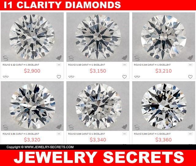 I Clarity Diamond Deals