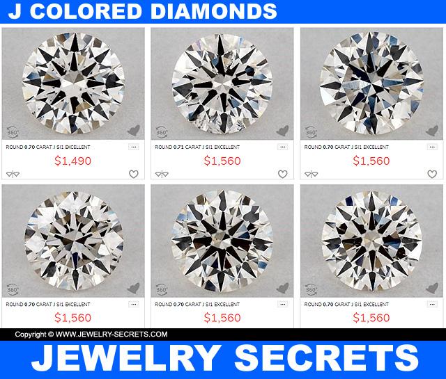 J Color Diamond Deals