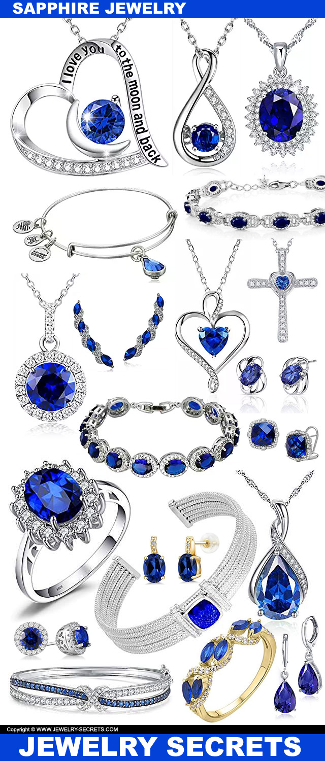 Sapphire Jewelry For The Month Of September