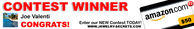 Jewelry Giveaway Contest 23 Winner