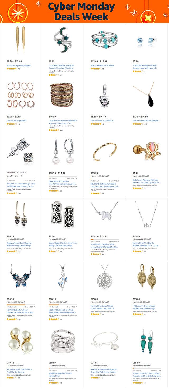 Cyber Monday Week Jewelry Deals Jewelry Secrets