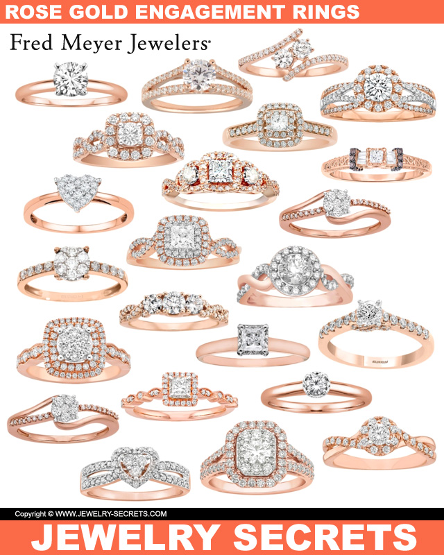 Rose Gold Engagement Rings Jewelry Secrets