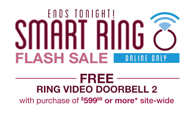 Helzberg Smart Ring Flash Sale Today Only