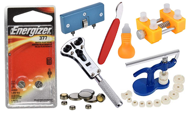 Watch Battery Tools