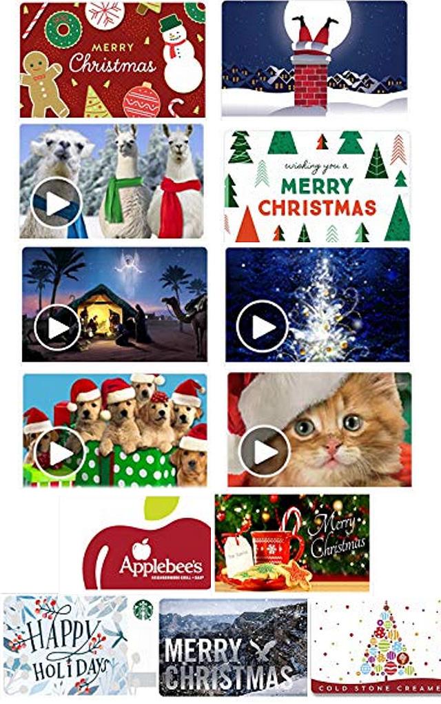 Christmas Printable Gift Cards