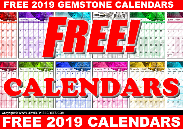Free 2019 Printable Downloadable Free Calendars