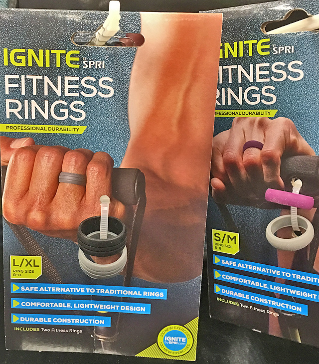 Target Fitness Workout Rings