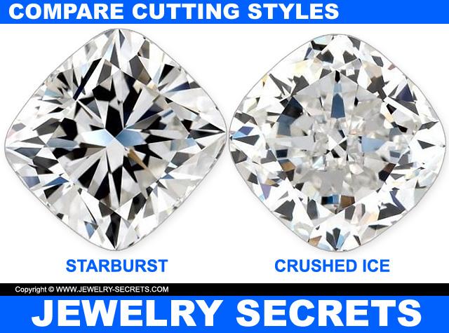 Compare Cushion Cut Diamond Cutting Styles