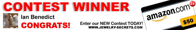 Jewelry Giveaway 25 Winner