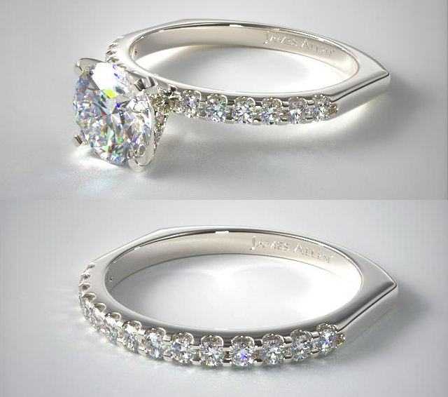 The Perfect Fitting Engagement Ring