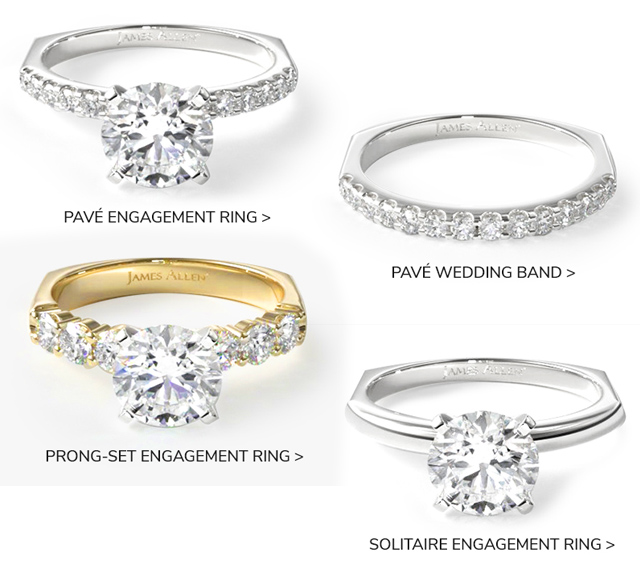 The Perfect Fitting Engagement Rings and Wedding Bands