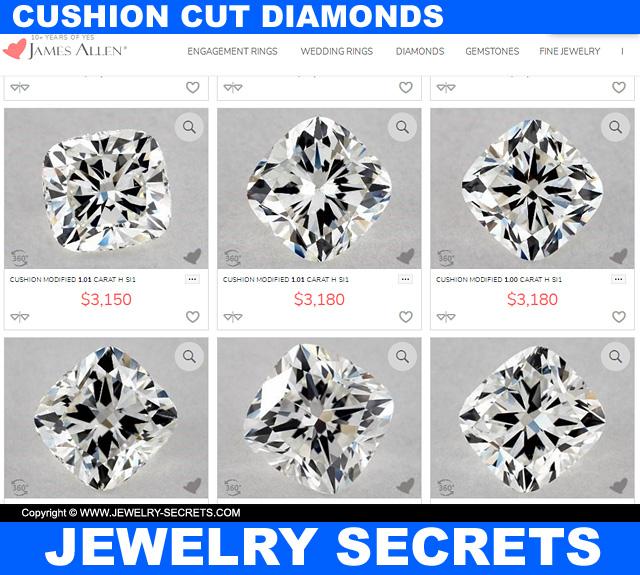 Where To Buy Cushion Cut Diamonds