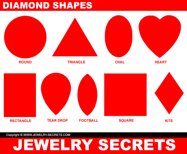 diamond shapes