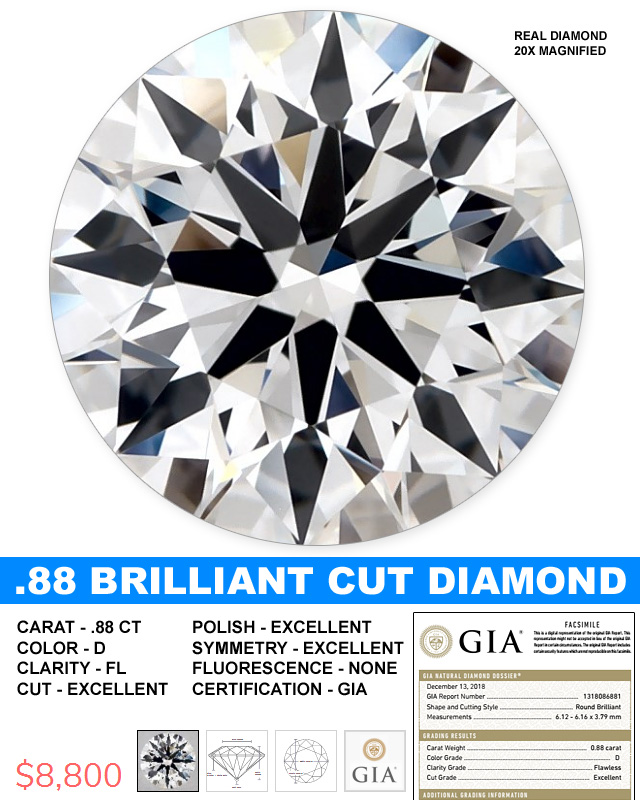 The Most Perfect Diamond Under 9 Grand
