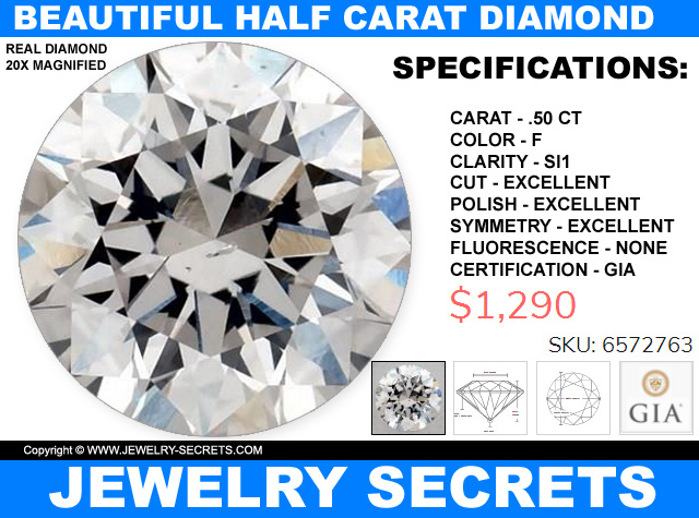 Beautiful Half Carat Diamond