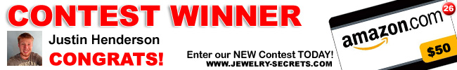 Jewelry Giveaway 26 Winner