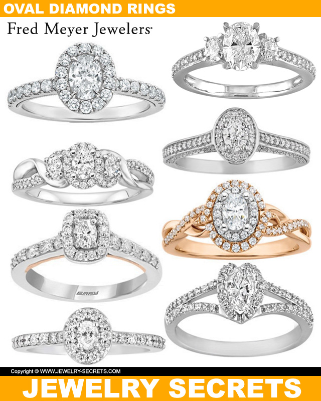 Oval Cut Diamonds From Fred Meyers Jewelers