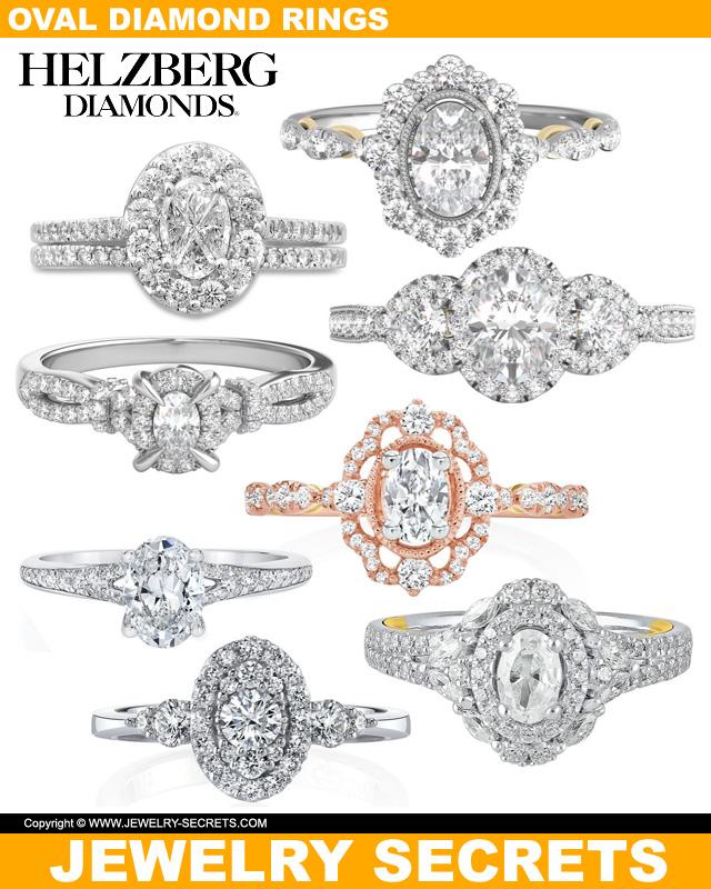 Oval Cut Diamonds From Helzberg