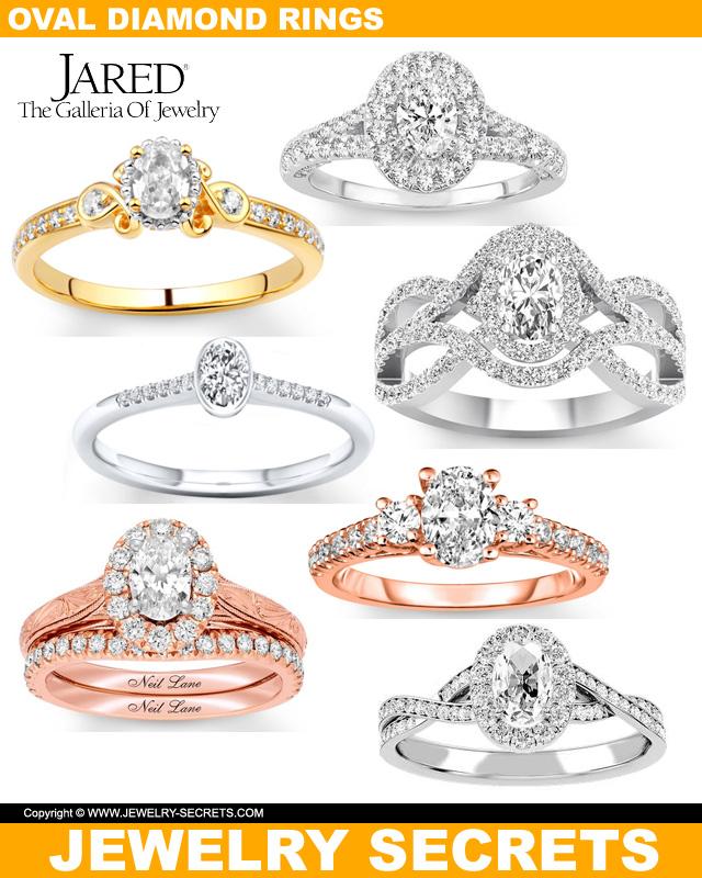 Oval Cut Diamonds From Jareds