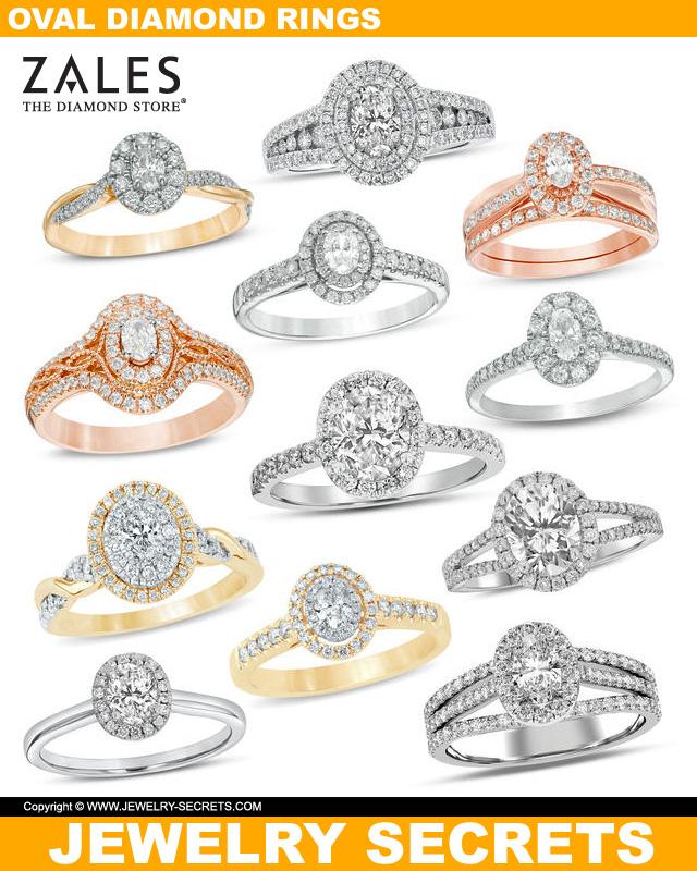 Oval Cut Diamonds From Zales