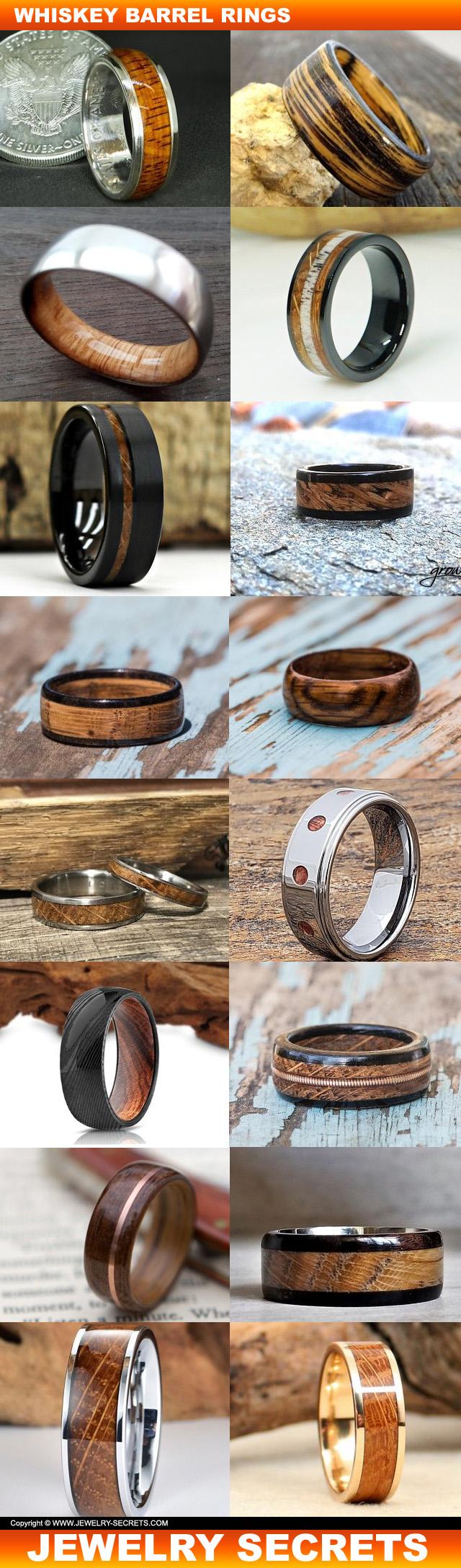 Whiskey Barrel Rings