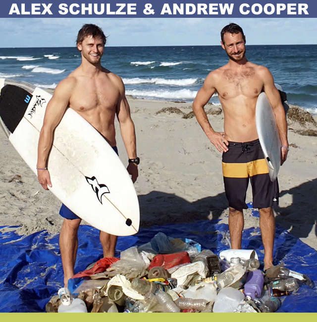 Alex Schulze And Andrew Cooper From 4Ocean