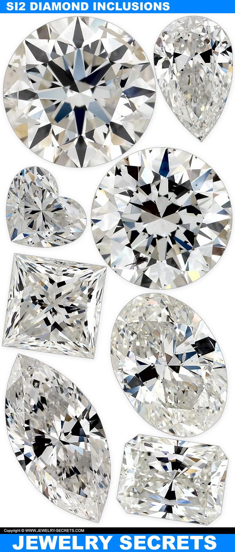 Brilliant Cut SI2 Diamond Inclusions