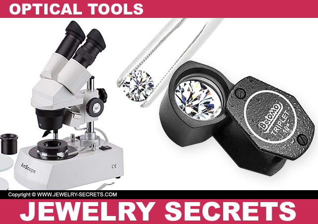 Diamond Microscope Belomo Triplet Jewelers Loupe