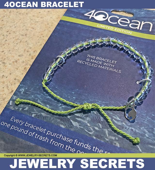 Recycled Plastic 4Ocean Bracelet
