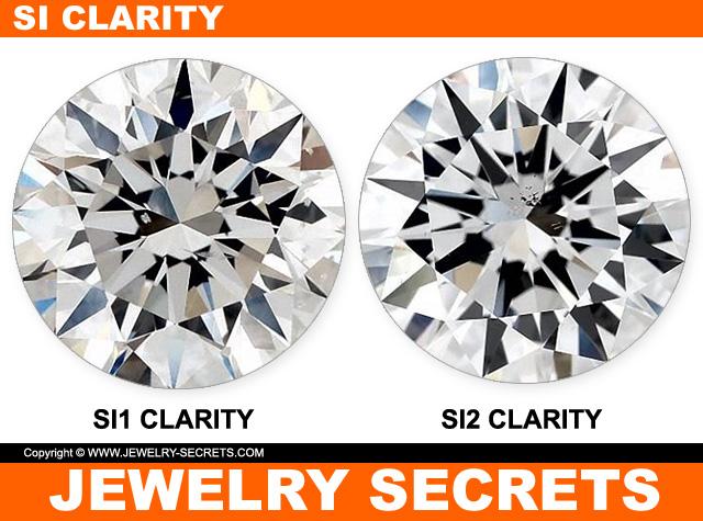 SI1 And SI2 Diamond Clarity